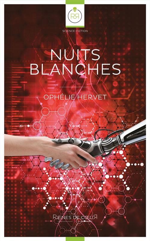Nuits Blanches d'Ophélie Hervet Couverture