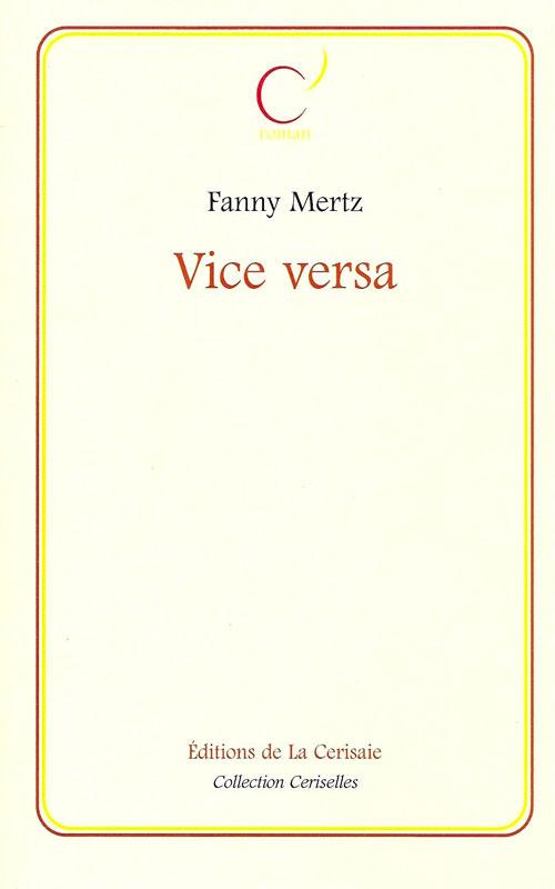 Vice Versa de Fanny Mertz - Couverture